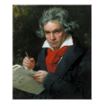 Retrato de Beethoven Póster