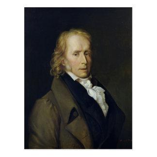 Retrato de Benjamin Constant de Rebecque Tarjetas Postales