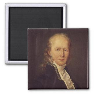 Retrato de Benjamin Constant Imán Cuadrado