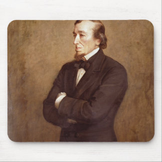 Retrato de Benjamin Disraeli Tapetes De Raton