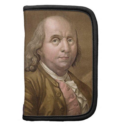 Retrato de Benjamin Franklin (1706-90), del 'Le Planificadores