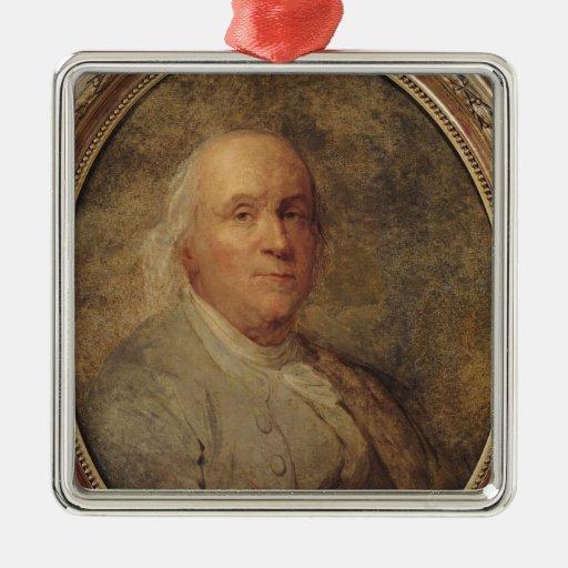 Retrato de Benjamin Franklin, c.1780 Ornamente De Reyes