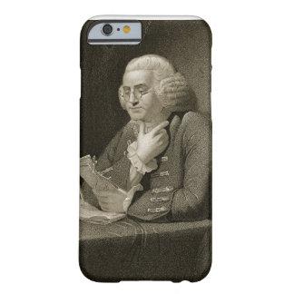 Retrato de Benjamin Franklin, grabado por Thomas Funda Barely There iPhone 6