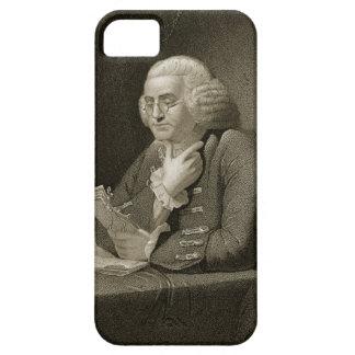 Retrato de Benjamin Franklin, grabado por Thomas Funda Para iPhone SE/5/5s