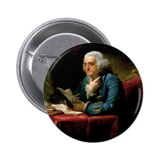 Retrato de Benjamin Franklin Pin