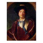 Retrato de Bernard le Bovier de Fontenelle Postales