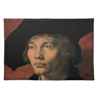 Retrato de Bernard von Reesen por Durer Manteles