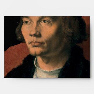 Retrato de Bernard von Reesen por Durer