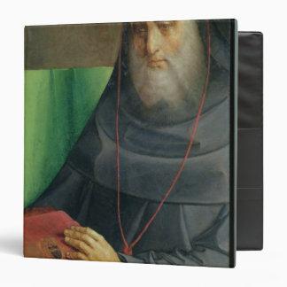 """Retrato de Bessarion cardinal c.1475 Carpeta 1 1/2"""""""