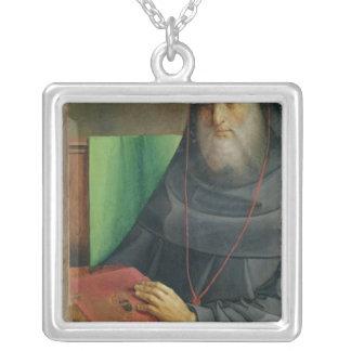 Retrato de Bessarion cardinal c.1475 Collar Plateado