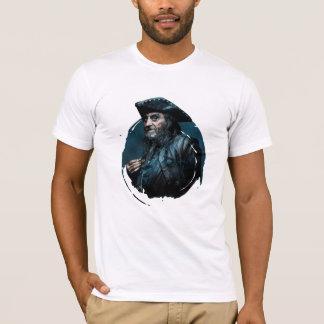 Retrato de Blackbeard Playera