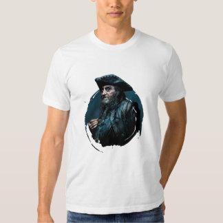 Retrato de Blackbeard Remeras