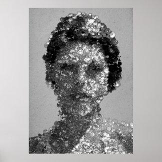 Retrato de Blanka Vlasic Poster