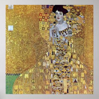 Retrato de Bloque-Bauer 2 de Gustavo Klimt Poster