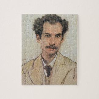 Retrato de Boris Nikolayevich Bugaev (1880-1934) Rompecabezas Con Fotos