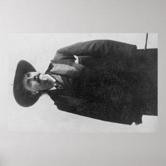 Retrato de Buffalo Bill Póster