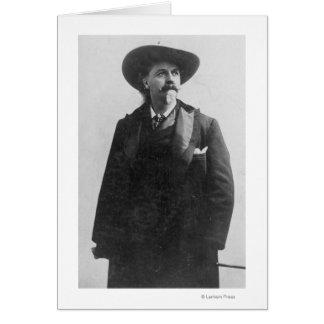 Retrato de Buffalo Bill Tarjeta De Felicitación