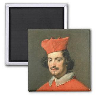Retrato de Camillo cardinal Astali Pamphili Imán Cuadrado