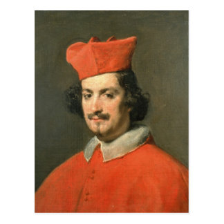 Retrato de Camillo cardinal Astali Pamphili Tarjeta Postal