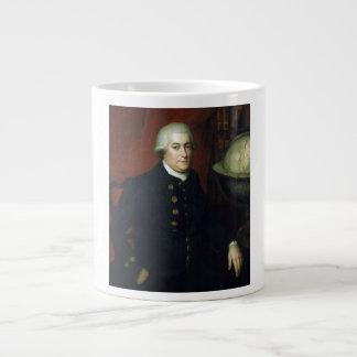 Retrato de capitán George Vancouver Taza Grande