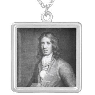 Retrato de capitán Guillermo Dampier Colgante Cuadrado