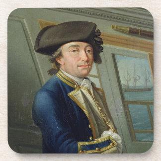 Retrato de capitán Guillermo Locker (1731-1800) 17 Posavasos De Bebida