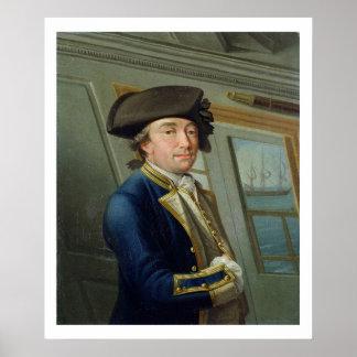 Retrato de capitán Guillermo Locker (1731-1800) 17 Póster
