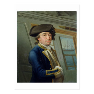 Retrato de capitán Guillermo Locker (1731-1800) 17 Tarjeta Postal