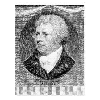 Retrato de capitán Thomas Foley Tarjeta Postal