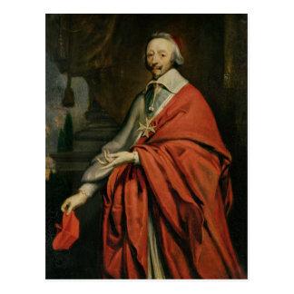 Retrato de Cardinal de Richelieu Postales