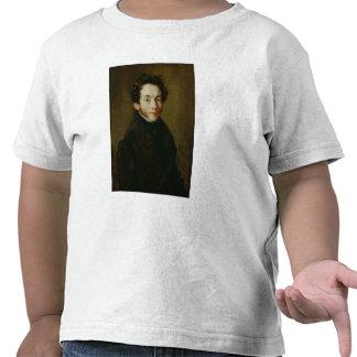 Retrato de Carl Maria Friedrich Ernst von Camiseta