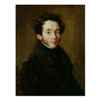 Retrato de Carl Maria Friedrich Ernst von Tarjetas Postales