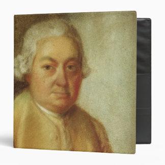 "Retrato de Carl Philipp Manuel Bach, c.1780 Carpeta 1 1/2"""