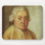 Retrato de Carl Philipp Manuel Bach, c.1780 Mouse Pad