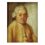 Retrato de Carl Philipp Manuel Bach, c.1780 Tarjetas Postales