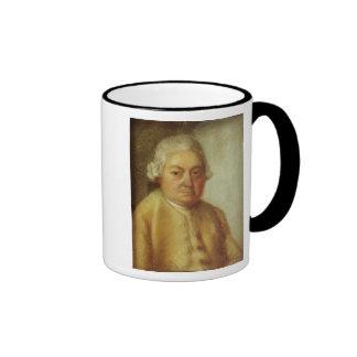 Retrato de Carl Philipp Manuel Bach, c.1780 Taza De Dos Colores