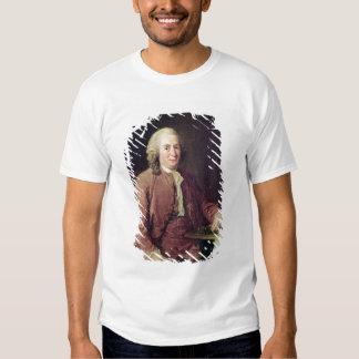Retrato de Carl von Linnaeus Remera