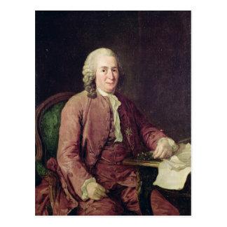 Retrato de Carl von Linnaeus Tarjetas Postales