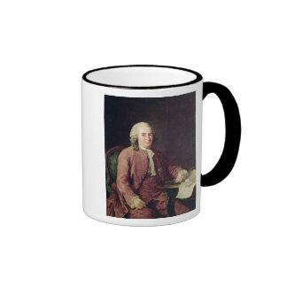 Retrato de Carl von Linnaeus Taza De Dos Colores