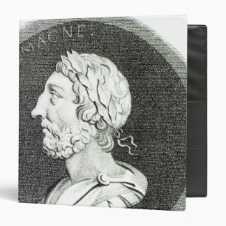 "Retrato de Carlomagno Carpeta 1 1/2"""