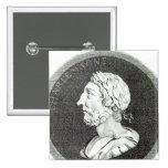 Retrato de Carlomagno Pin