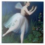 """""""Retrato de Carlotta Grisi en Giselle"""" cerca Teja Ceramica"""