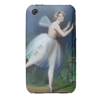 """""""Retrato de Carlotta Grisi en Giselle"""" cerca Funda Para iPhone 3"""