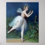 """Retrato de Carlotta Grisi en Giselle"" cerca Impresiones"