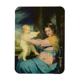 Retrato de Caroline, duquesa de Marlborough con Imán Foto Rectangular