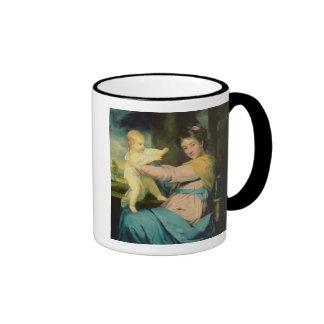 Retrato de Caroline, duquesa de Marlborough con Tazas De Café