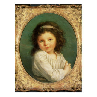 Retrato de Caroline Lalive de la Briche, 1786 Postal