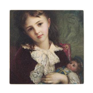 Retrato de Catherine du Bouchage, 1879 Posavasos De Madera