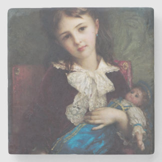Retrato de Catherine du Bouchage, 1879 Posavasos De Piedra