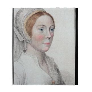 Retrato de Catherine Howard (1520-42) grabado cerc